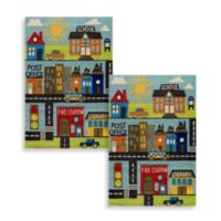 Momeni 'Lil Mo Whimsy Town 5-Foot x 7-Foot Area Rug