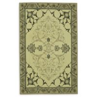 Patina Vie by Karastan Chateau Floral 5' x 8' Area Rug in Grey