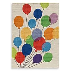 Momeni U0026#39;Lil Mo Whimsy LMJ 16 Multi Balloons Area Rug