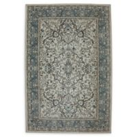 Karastan Monaghan 6'6 x 9'6 Area Rug in Cream