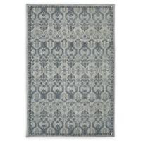 Karastan Castine 9'6 x 12'11 Woven Area Rug in Willow Grey