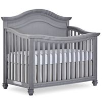 evolur™ Madison 5-In-1 Convertible Curved Top Crib in Storm Grey