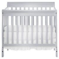 Dream On Me Aden 4-in-1 Convertible Mini Crib in Grey