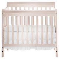 Dream On Me Aden 4-in-1 Convertible Mini Crib in French White