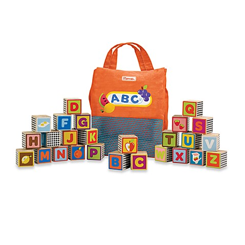 Manhattan Toy® My ABC Food Blocks