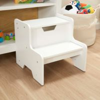 Melissa & Doug® Wooden Step Stool in White