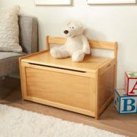 Melissa & Doug® Wooden Toy Chest in Natural