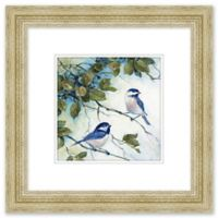 In the Trees 19-Inch Square Framed Wall Art