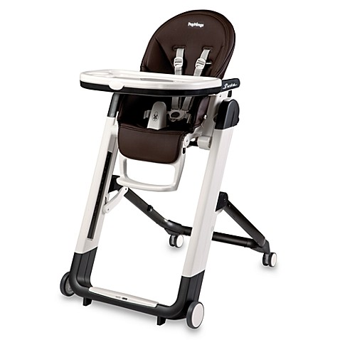 buy peg perego siesta high chair in cacao brown from bed bath beyond