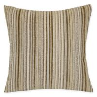 Tarika Square Throw Pillow in Natural
