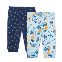 Rosie Pope® Size 0-3M 2-Pack Knights Pants