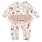 Kidding Around Newborn Floral Print Coverall