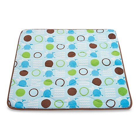 Aquatopia Whale Blue Memory Foam Play Rug Bed Bath Amp Beyond