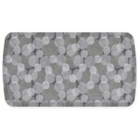 "GelPro Elite Comfort Blossom 20"" x 36"" Kitchen Mat in Weathered Grey"