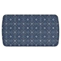 "GelPro® Elite Verona 20"" x 36"" Comfort Kitchen Mat in Indigo"