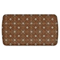 "GelPro® Elite Verona 20"" x 36"" Comfort Kitchen Mat in Sienna Brown"