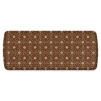 "GelPro® Elite Verona 20"" x 48"" Comfort Kitchen Mat in Sienna Brown"