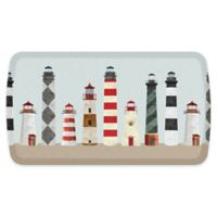 "GelPro® Elite 20"" x 36"" Lighthouses Comfort Floor Mat in Red"