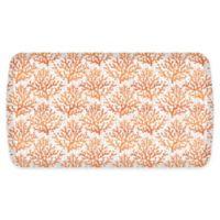 """GelPro® Elite Comfort Sea Coral 20"""" x 36"""" Floor Mat in Tangerine"""