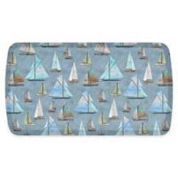 GelPro® Elite Sailboat 20-Inch x 36-Inch Comfort Floor Mat in Coastal