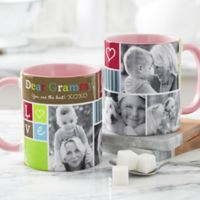 Photo Fun 11 oz. Coffee Mug in Pink