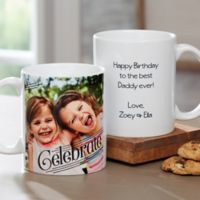 Photo Expressions 11 oz. Coffee Mug in White