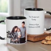 Photo Expressions 11 oz. Coffee Mug in Black