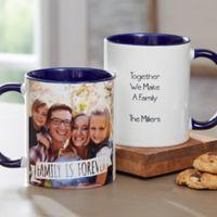 Photo Expressions 11 oz. Coffee Mug in Blue
