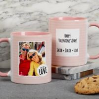 Favorite Memories Message 11 oz. Coffee Mug in Pink