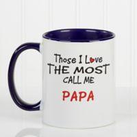 Those I Love The Most 11 oz. Coffee Mug in Blue