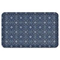 "GelPro® NewLife® Verona 20"" x 32"" Designer Comfort Mat in Indigo"