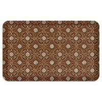 "GelPro® NewLife® Verona 20"" x 32"" Designer Comfort Mat in Sienna Brown"