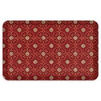 """GelPro® NewLife® Verona 20"""" x 32"""" Designer Comfort Mat in Sangria"""