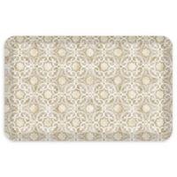 """GelPro® NewLife® Verona 20"""" x 32"""" Designer Comfort Mat in Sandstone"""