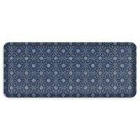 "GelPro® NewLife® Verona 20"" x 48"" Designer Comfort Mat in Indigo"