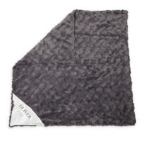 Zalamoon Charcoal Strollet Polyester Security Blanket