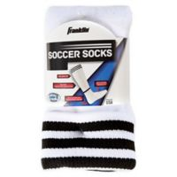 Franklin® Sports Medium Soccer Socks In White/Pink