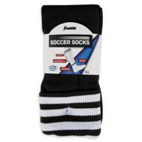 Franklin® Sports Large Soccer Socks In Black/White