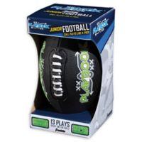 Franklin® Sports Jr. Spacelace® Playbook Football in Black/Green
