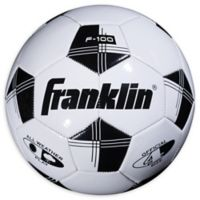 Franklin® Sports Competition 100 Size 4 Soccer Ball in White/Black