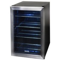 NewAir 84-Can Beverage Cooler in Stainless Steel