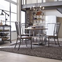 Home Styles Barnside Metro 5-Piece Dining Set in Grey/Driftwood