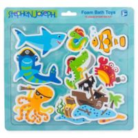 Stephen Joseph® 10-Piece Pirate-Themed Foam Bath Toy Set