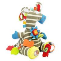Activity Zebra Plush Toy