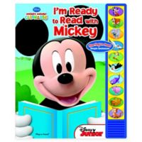 """""""I'm Ready To Read with Mickey"""" Book"""