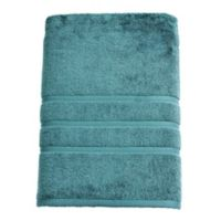 American Craft Made in the USA Bath Towel in Oil Blue
