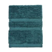 American Craft Made in the USA Washcloth in Oil Blue