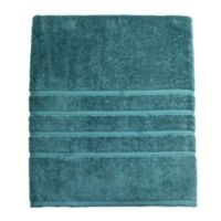 American Craft Made in the USA Bath Sheet in Oil Blue