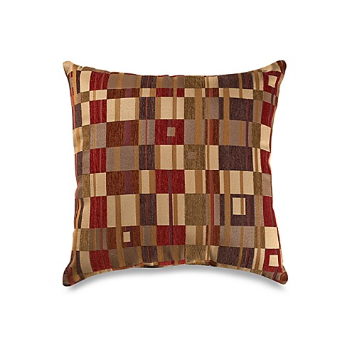 Merrifield Spice 20-Inch Square Throw Pillow