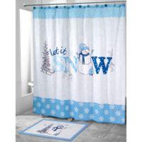 Avanti Let it Snow Shower Curtain